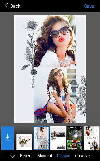 Instamag photo collage